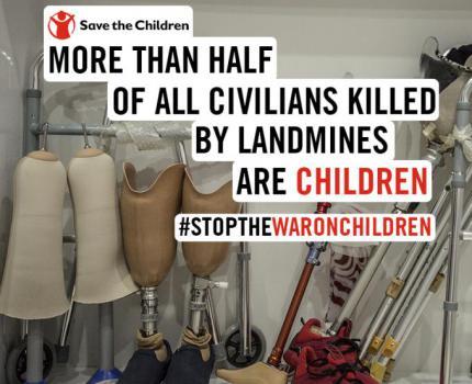 U.S. Land Mine Policy Change Endangers Children